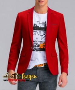 Blazer Pria Warna Merah Keren (Pured 02)