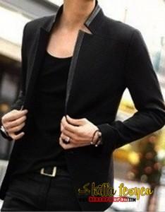 Blazer Korea Keren & Trend (Black Sigrey)