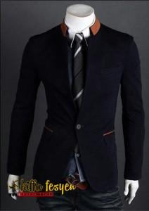 Blazer Korean Style (Simple Black 02)